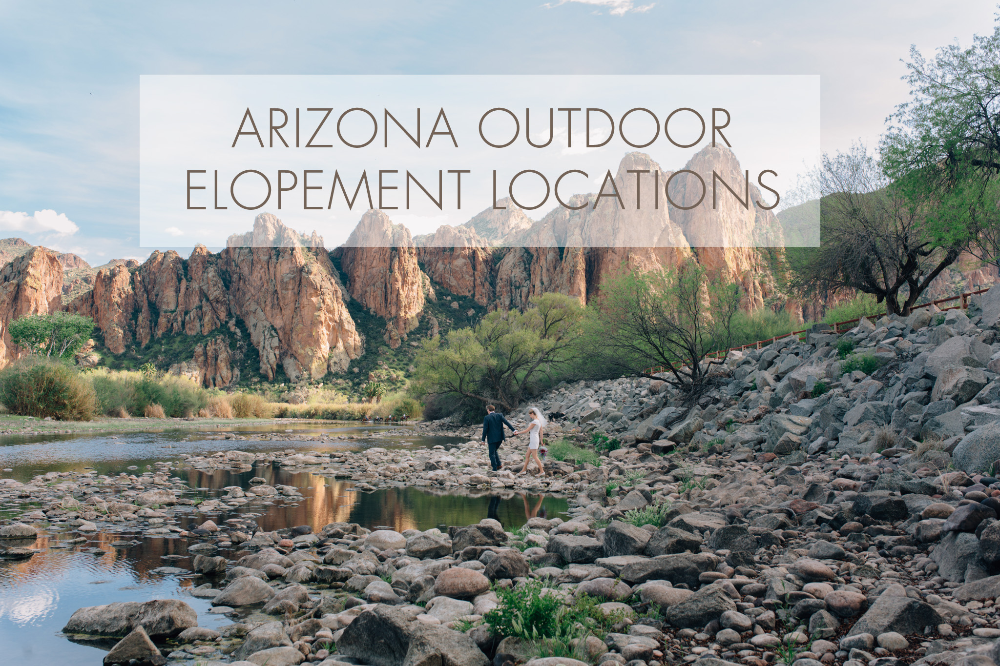 Arizona outdoor elopement locations