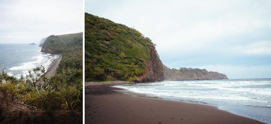 Polou Valley beach lookout