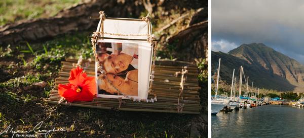 memorial floating bamboo raft ocean memorial