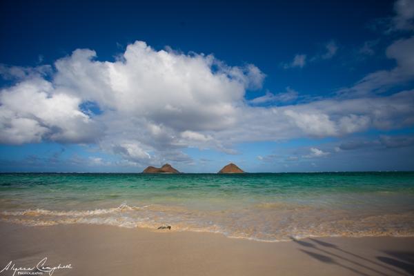 Lanikai Beach Mokulua Islands