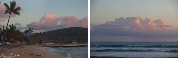 Pokai Bay sunset