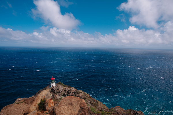 Makapu'u Lighthouse look out over the Pacific Ocean