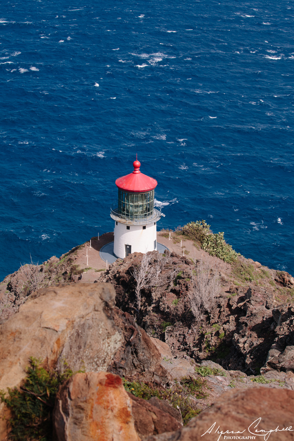 Makapu'u Lighthouse look out over Pacific Ocean