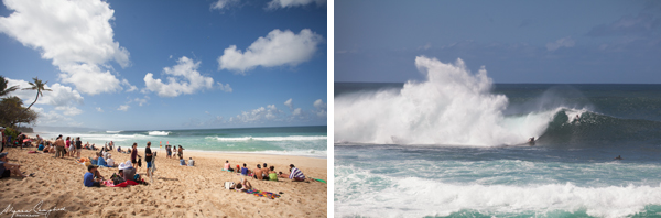 Pipeline North Shore Oahu Hawaii surfing big waves