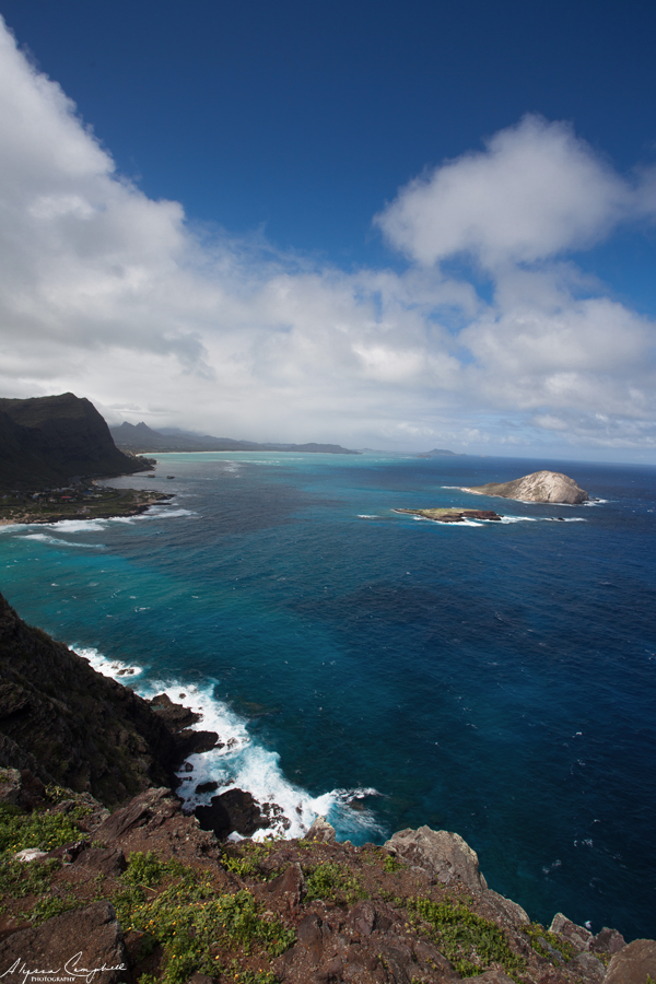 Oahu Hawaii Rabbit Island from Makapuu Point