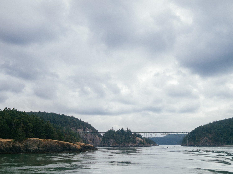 Deception Pass bridge Washington