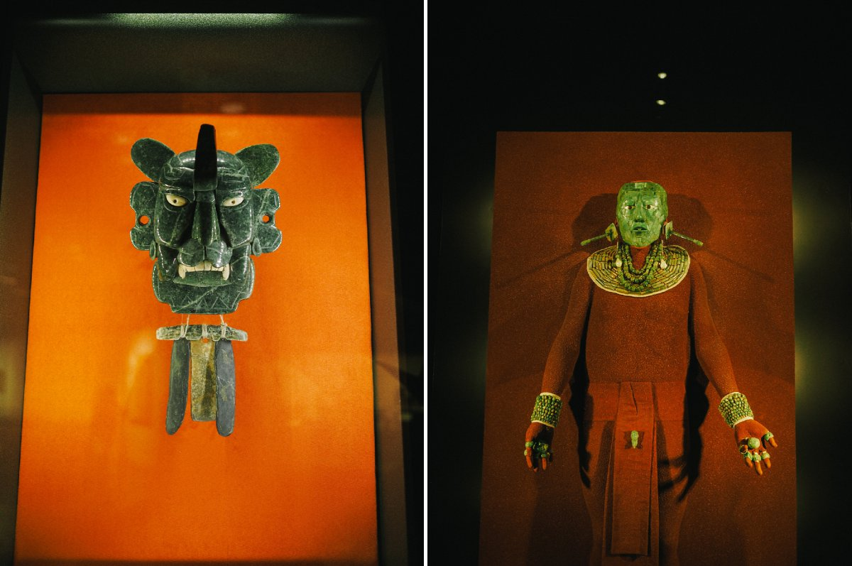 Mexico City anthropology museum