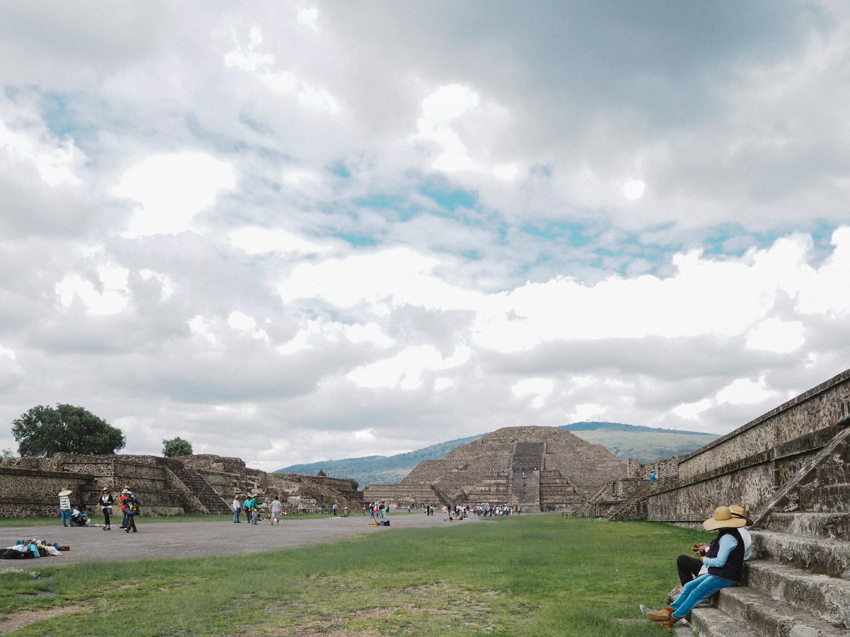 Teotihuacan Mexico Pyramid of the Moon