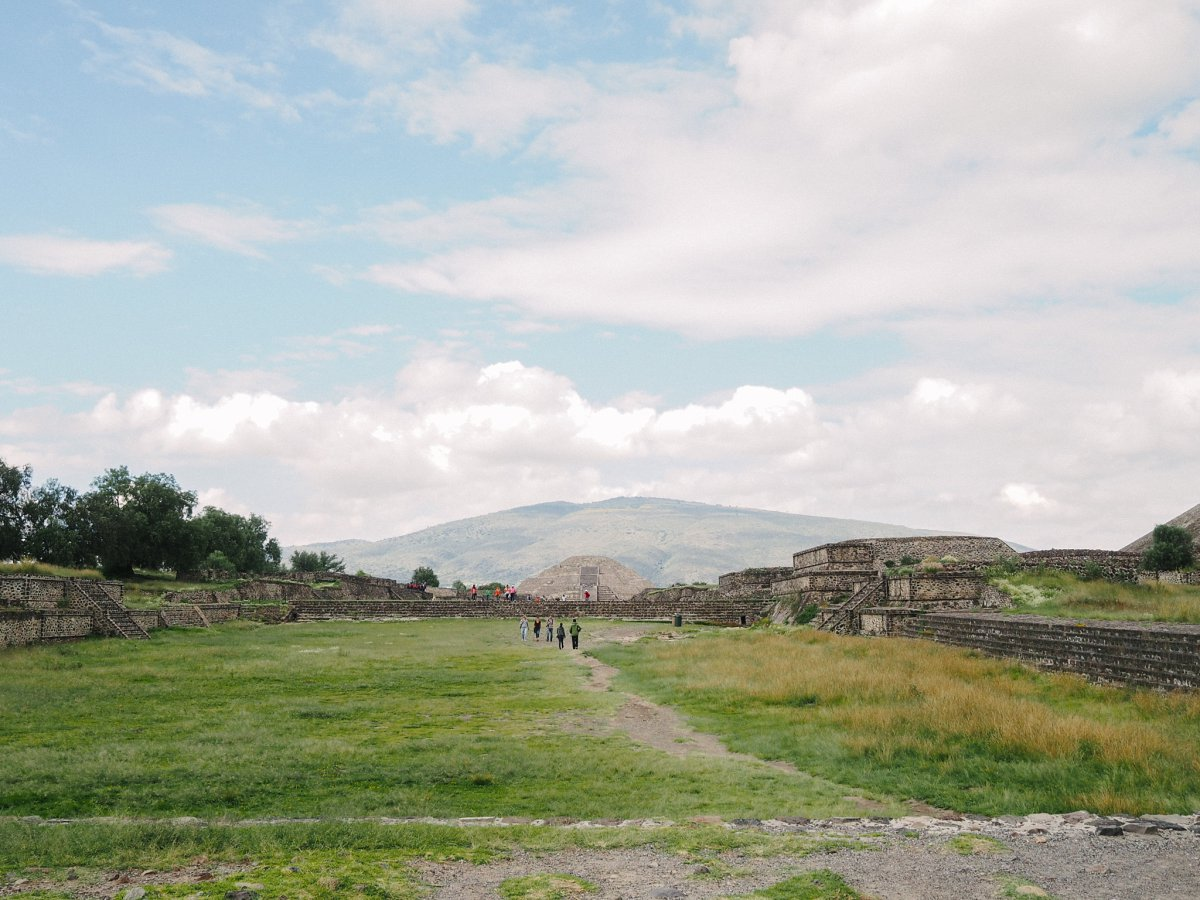 Teotihuacan Mexico Avenue of the Dead