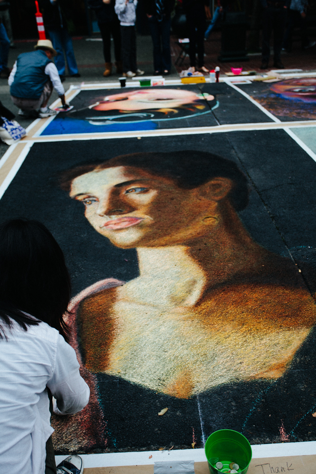 international chalk art festival victoria canada september 15 2013