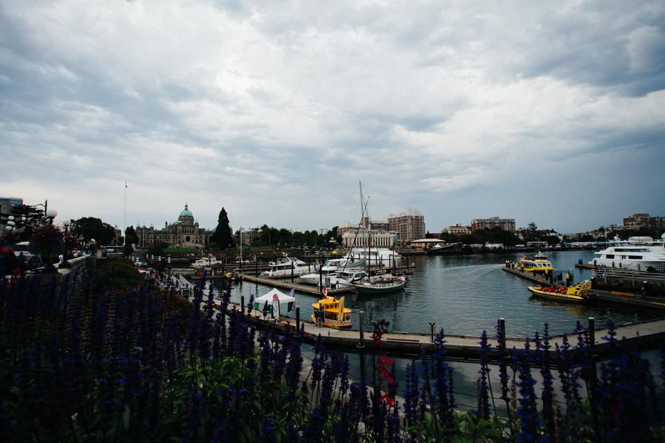 Victoria Canada inner harbor