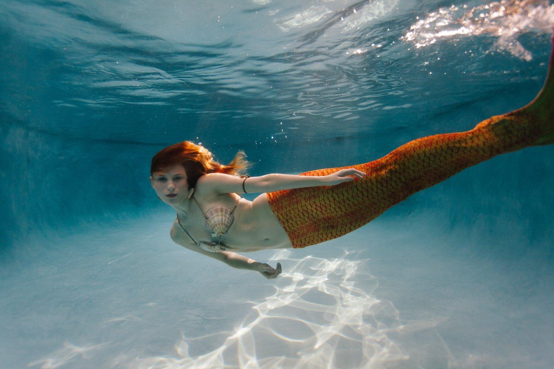 Arizona underwater mermaid photos