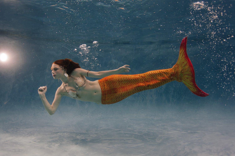 Arizona underwater mermaid photographer