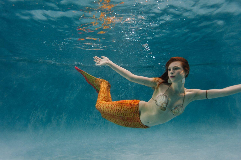 Phoenix underwater mermaid photography