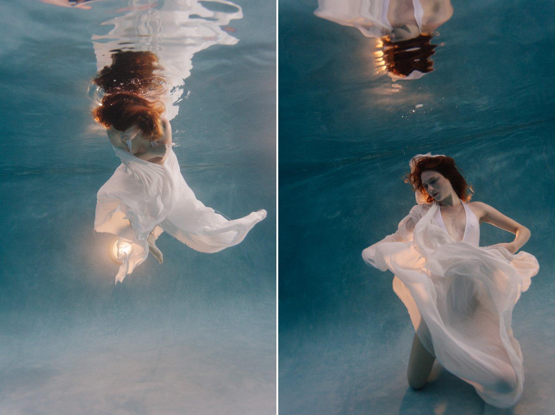 underwater boudoir photographer Phoenix AZ