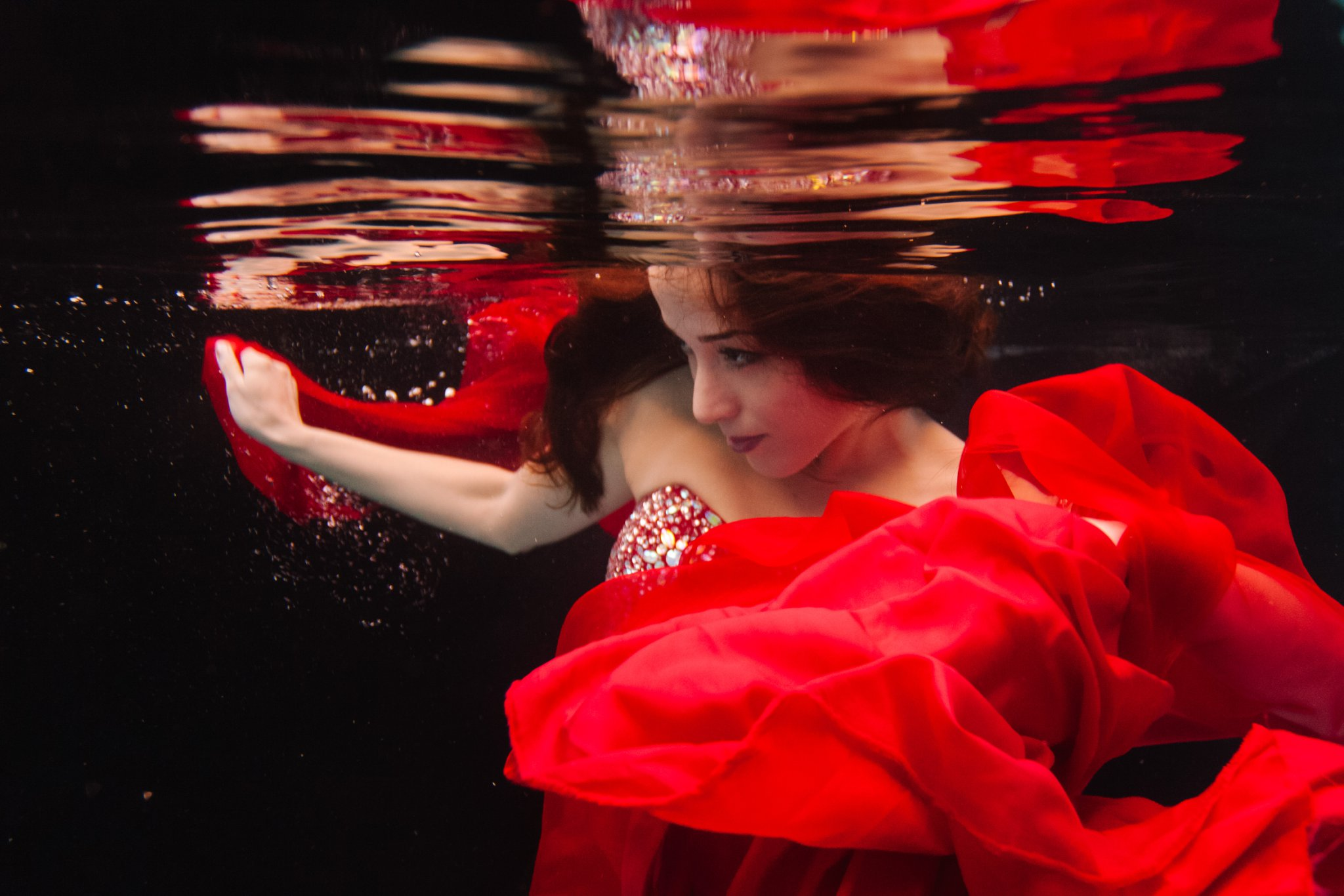 Arizona underwater fashion photographer