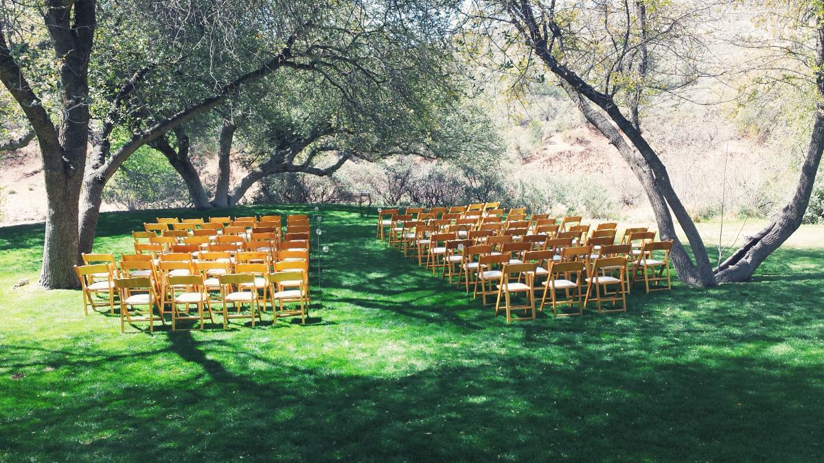 Van Dickson Ranch Prescott wedding venue Arizona