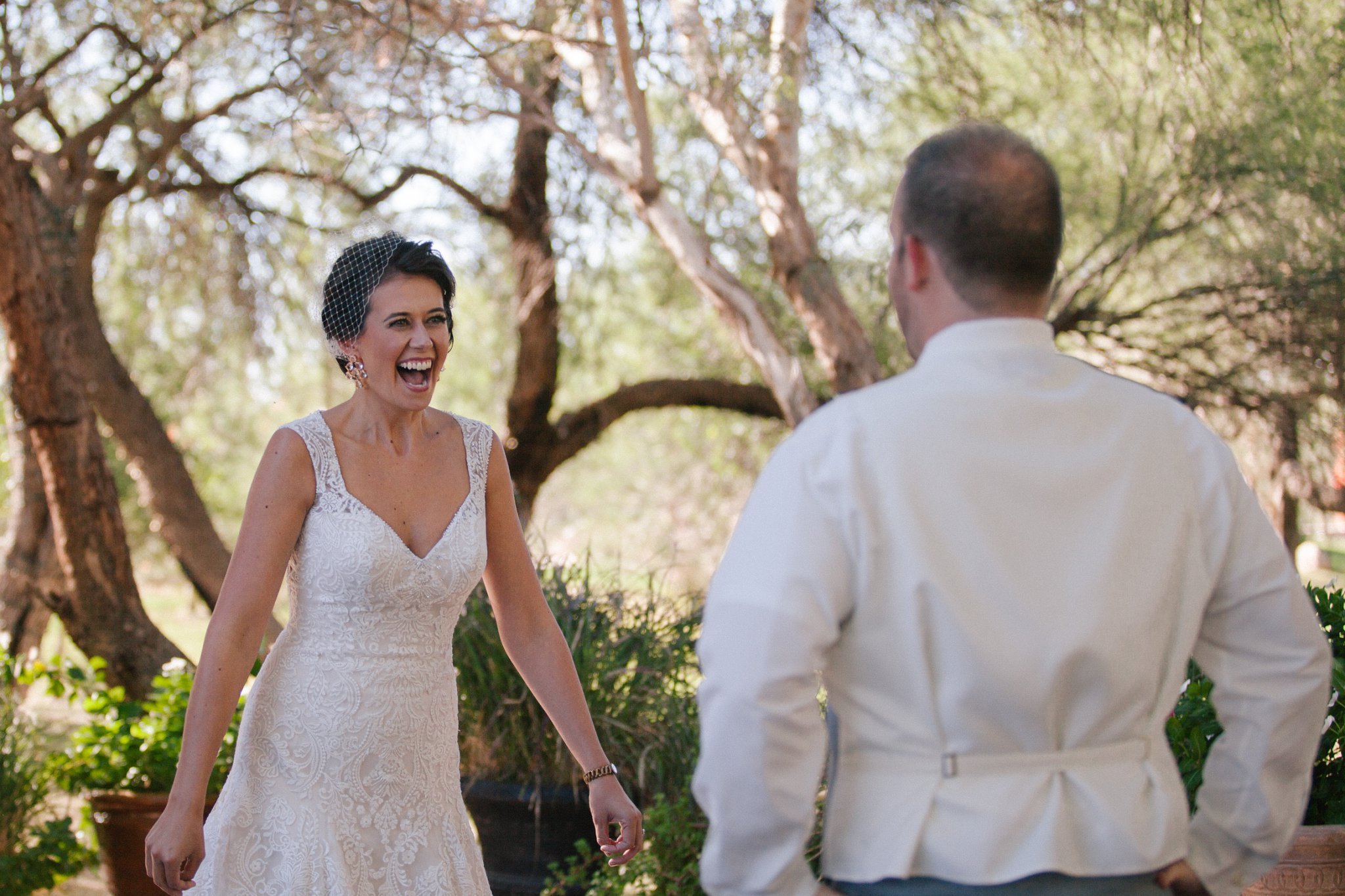 Windmill Winery first look Phoenix documentary wedding photographer