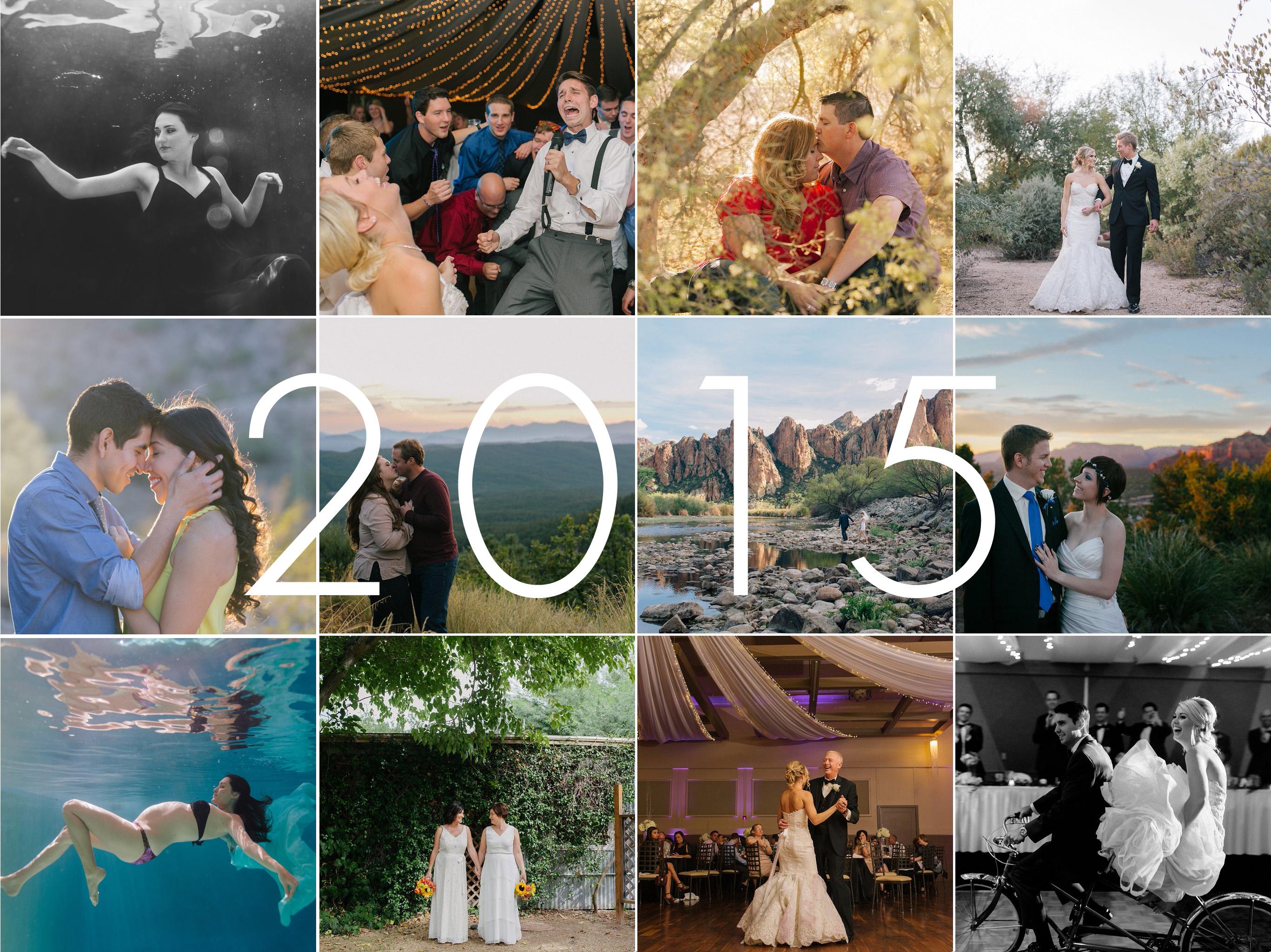 2015 year in reveiw Arizona wedding photographer