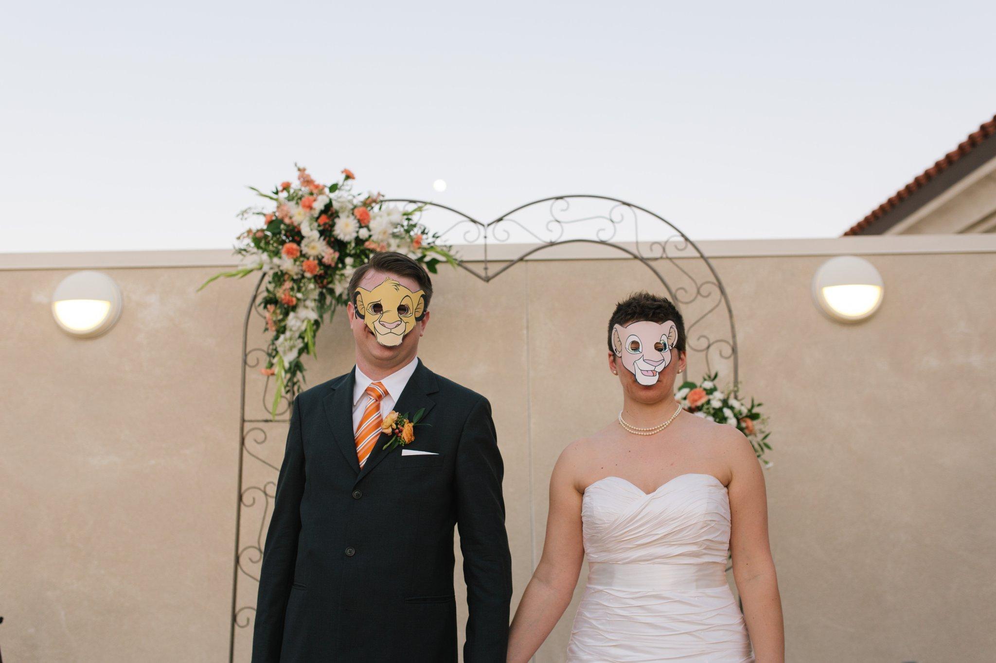 Mesa Natural History Museum wedding