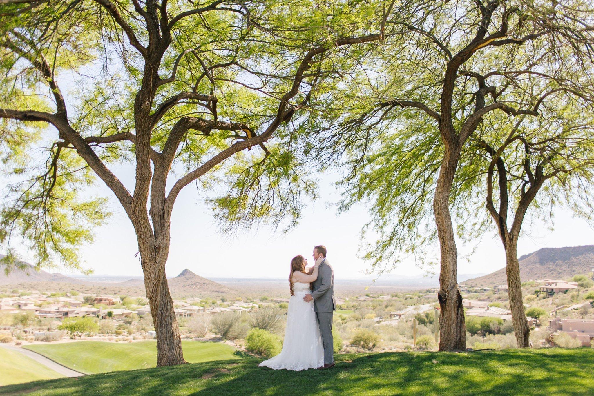 Eagle Mountain golf course wedding photos