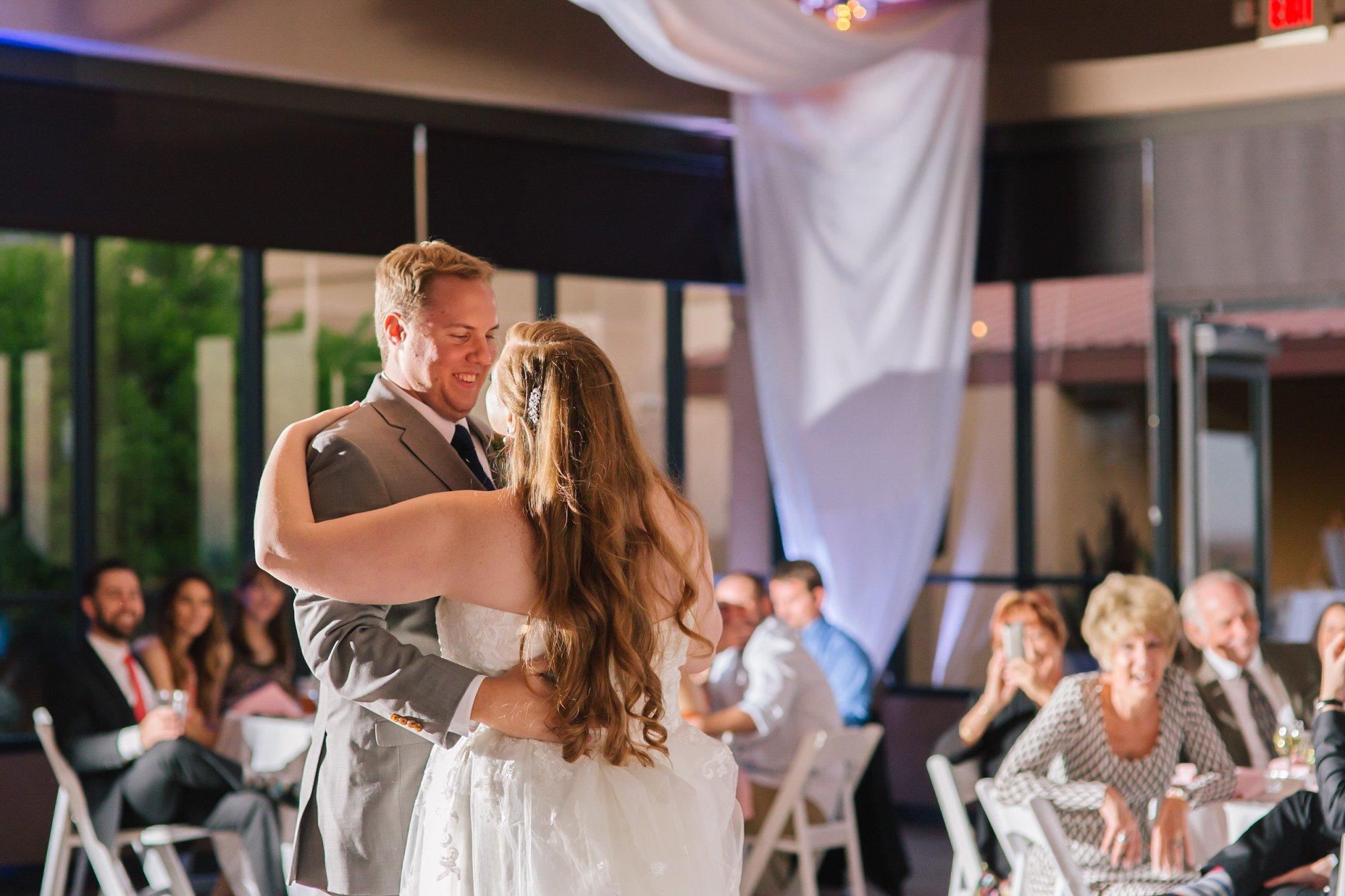 Eagle Mountain resort wedding reception