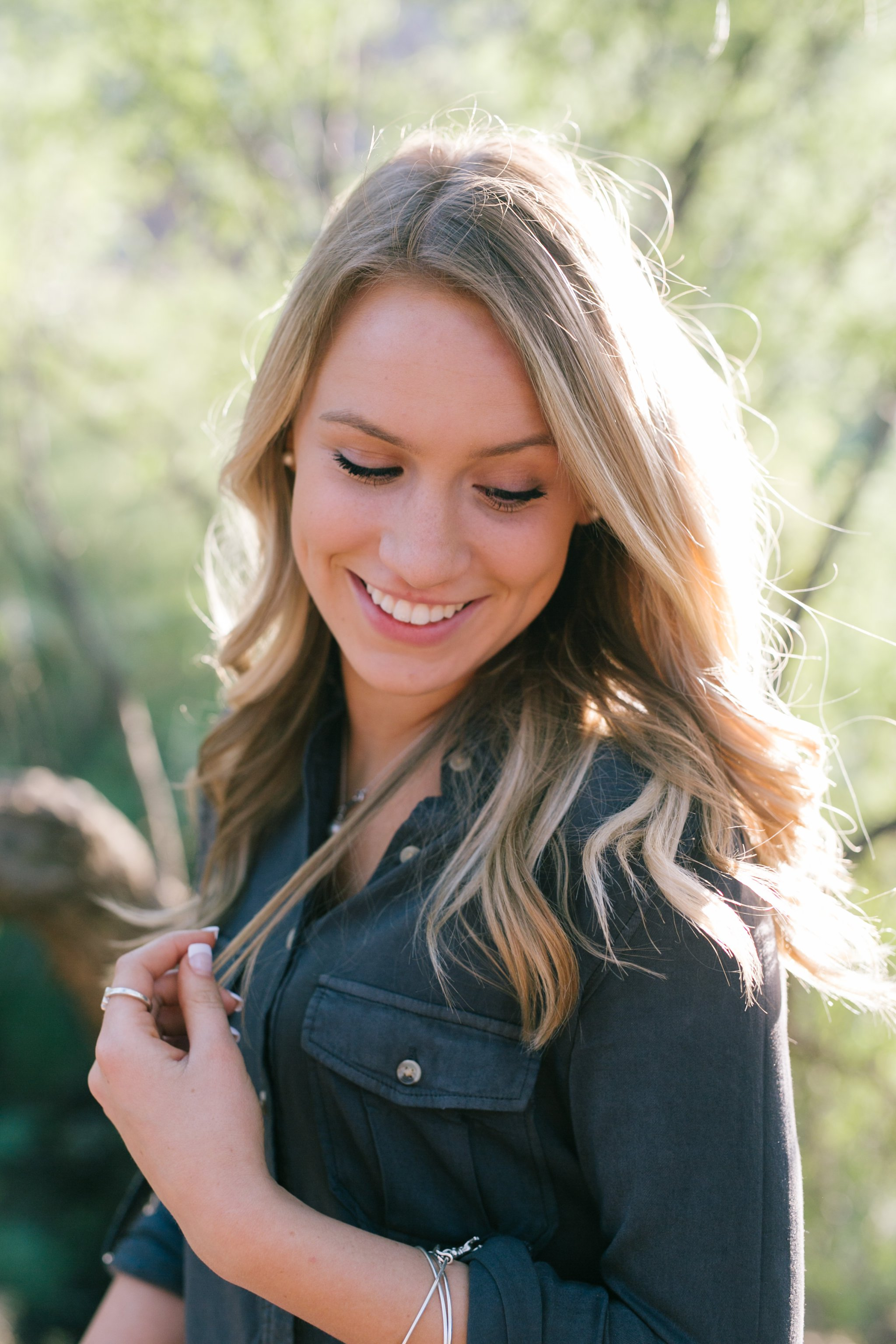 Mesa high school senior portrait photographer