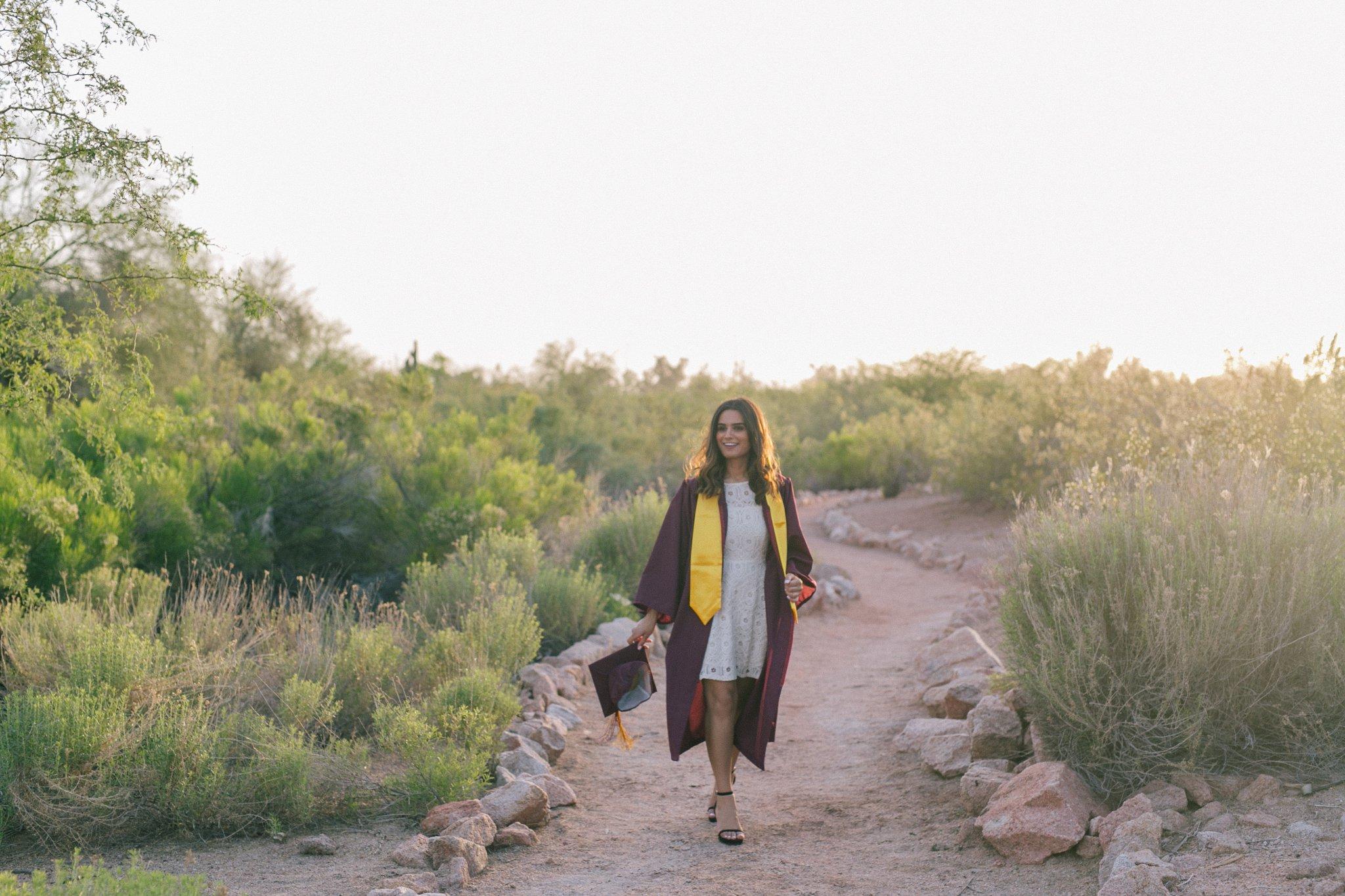 Arizona State University college graduate portraits