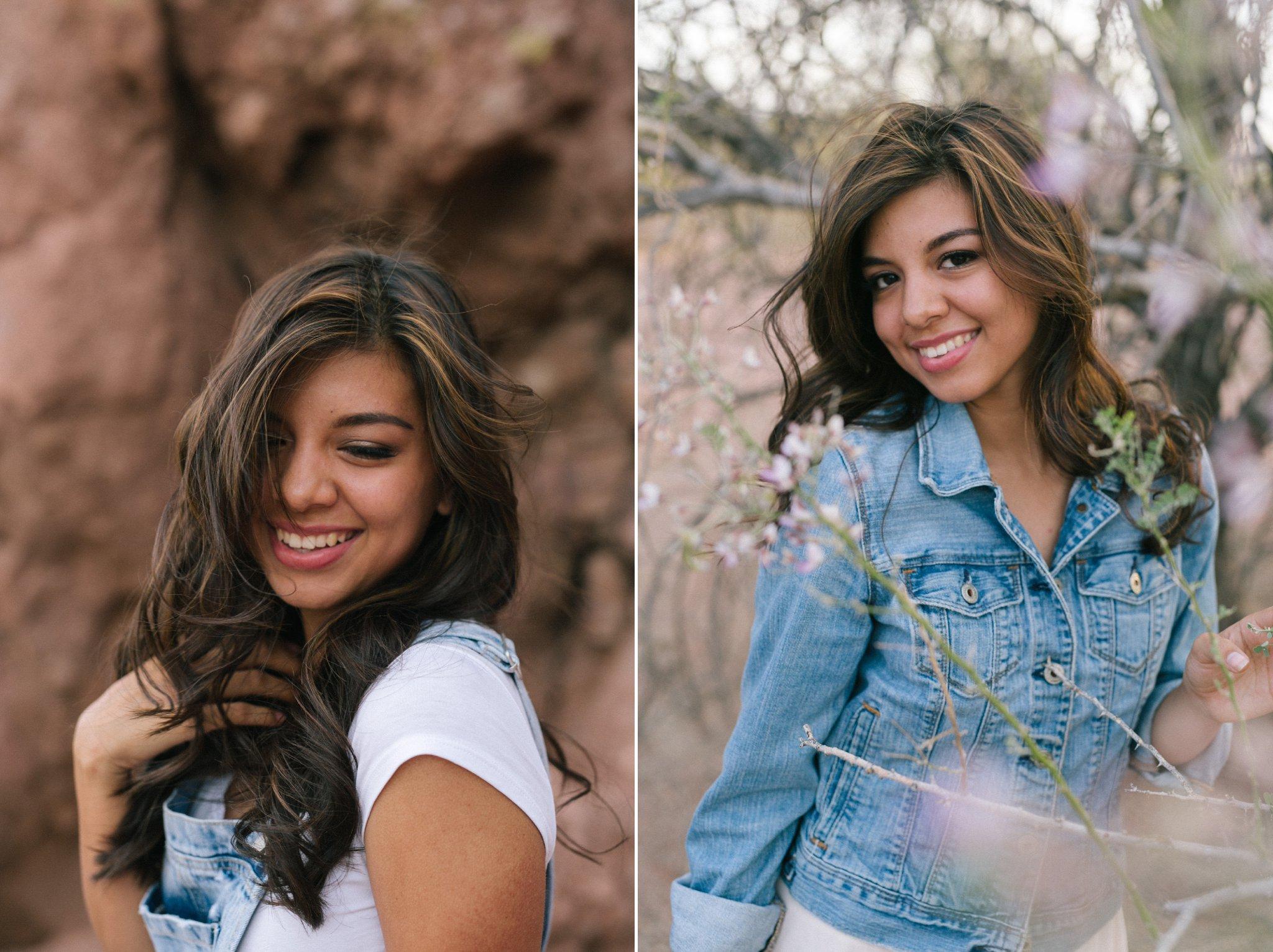 Tempe high school senior portrait photographer