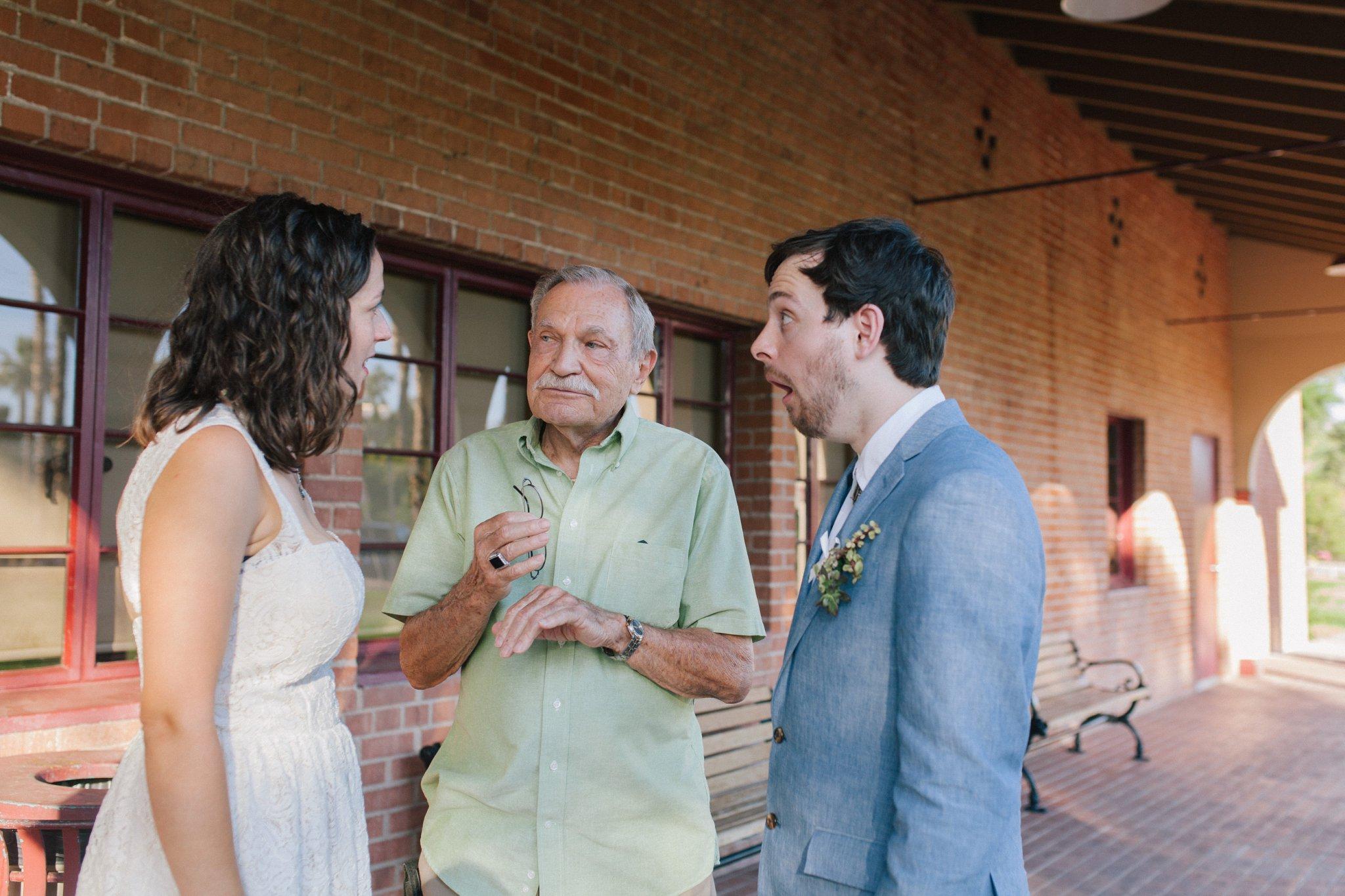 Phoenix Encanto Park wedding documentary candid wedding photography