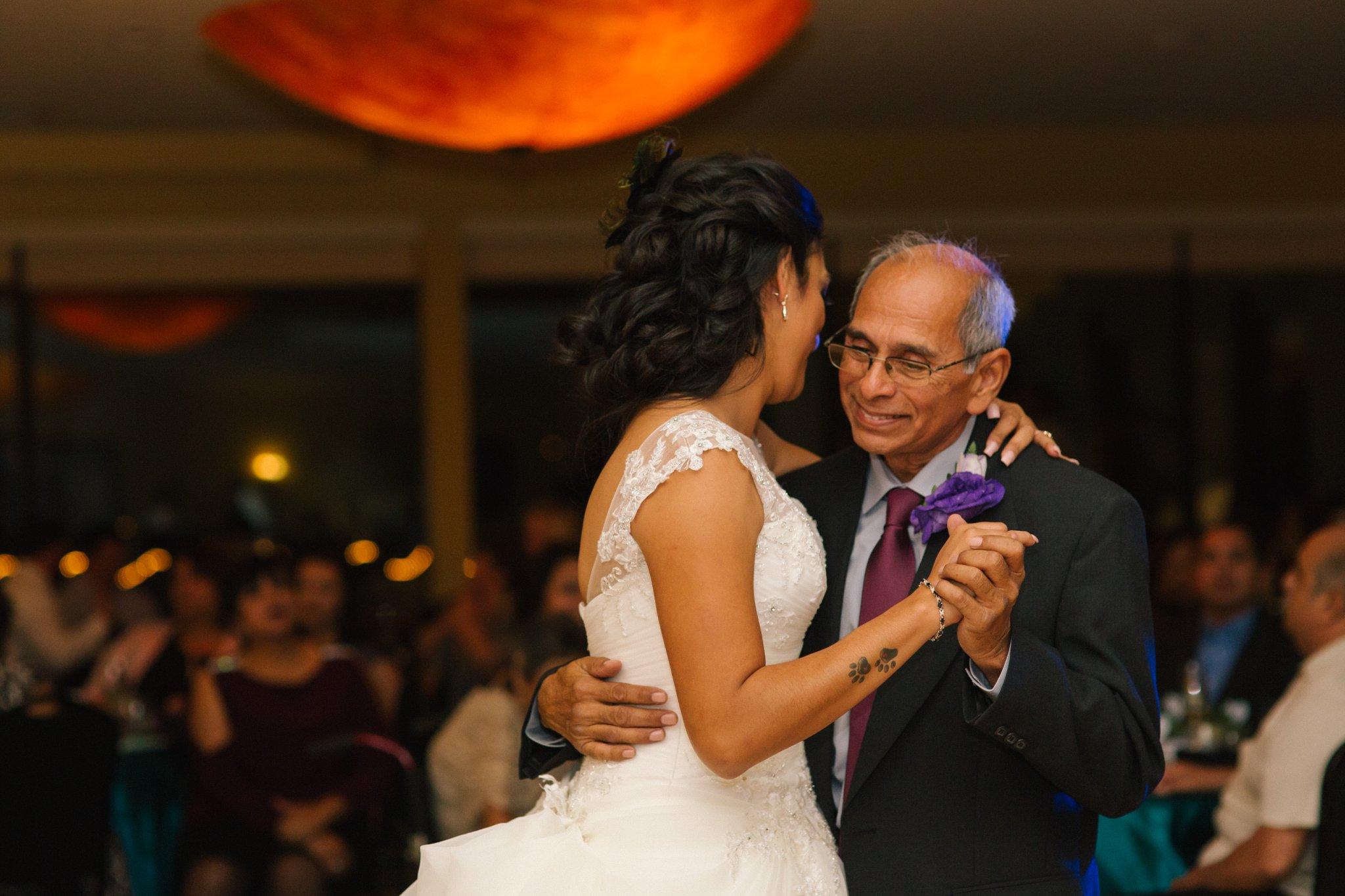 Las Sendas golf course wedding reception father daughter dance