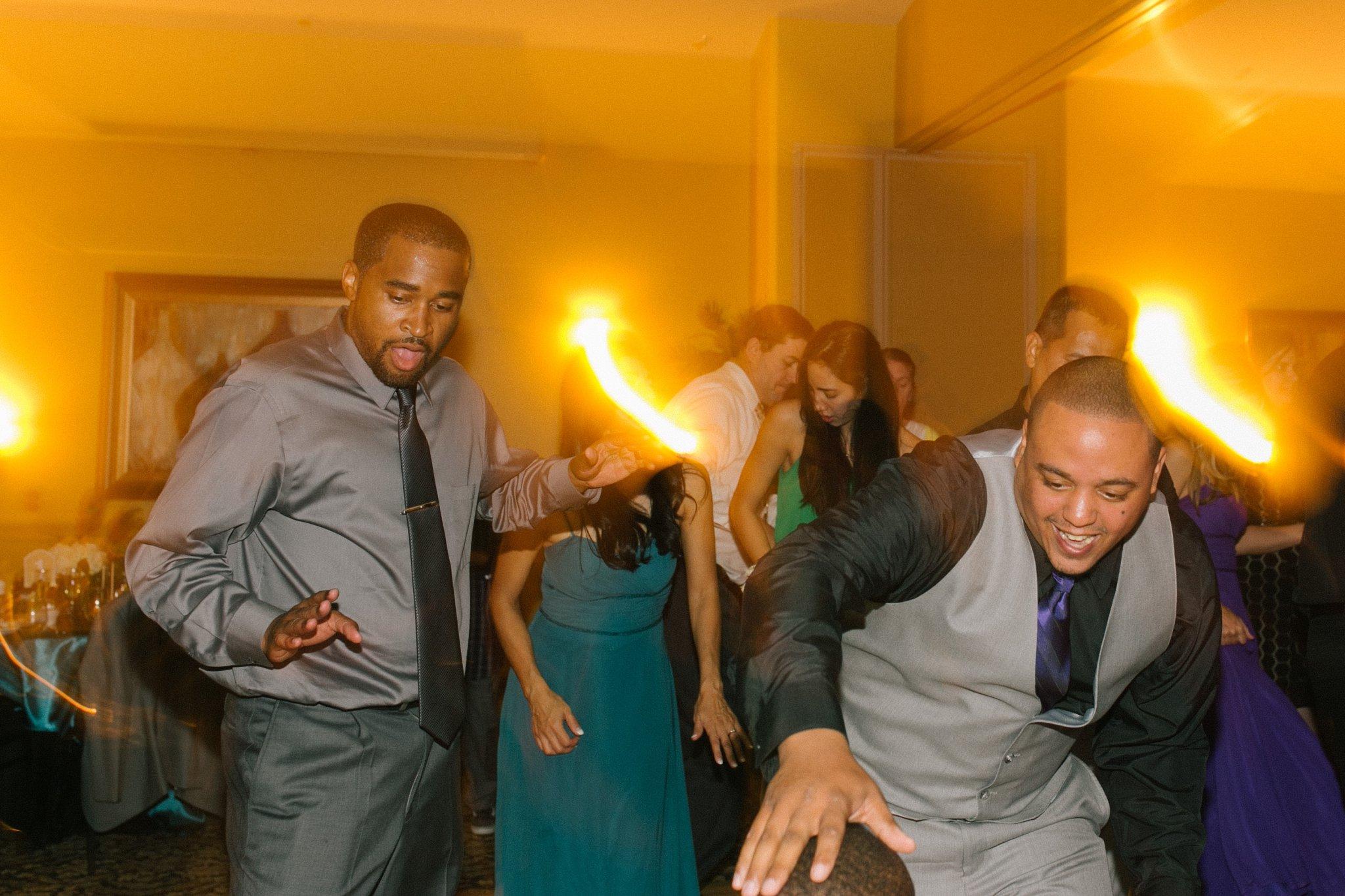 Las Sendas golf course wedding reception dancing