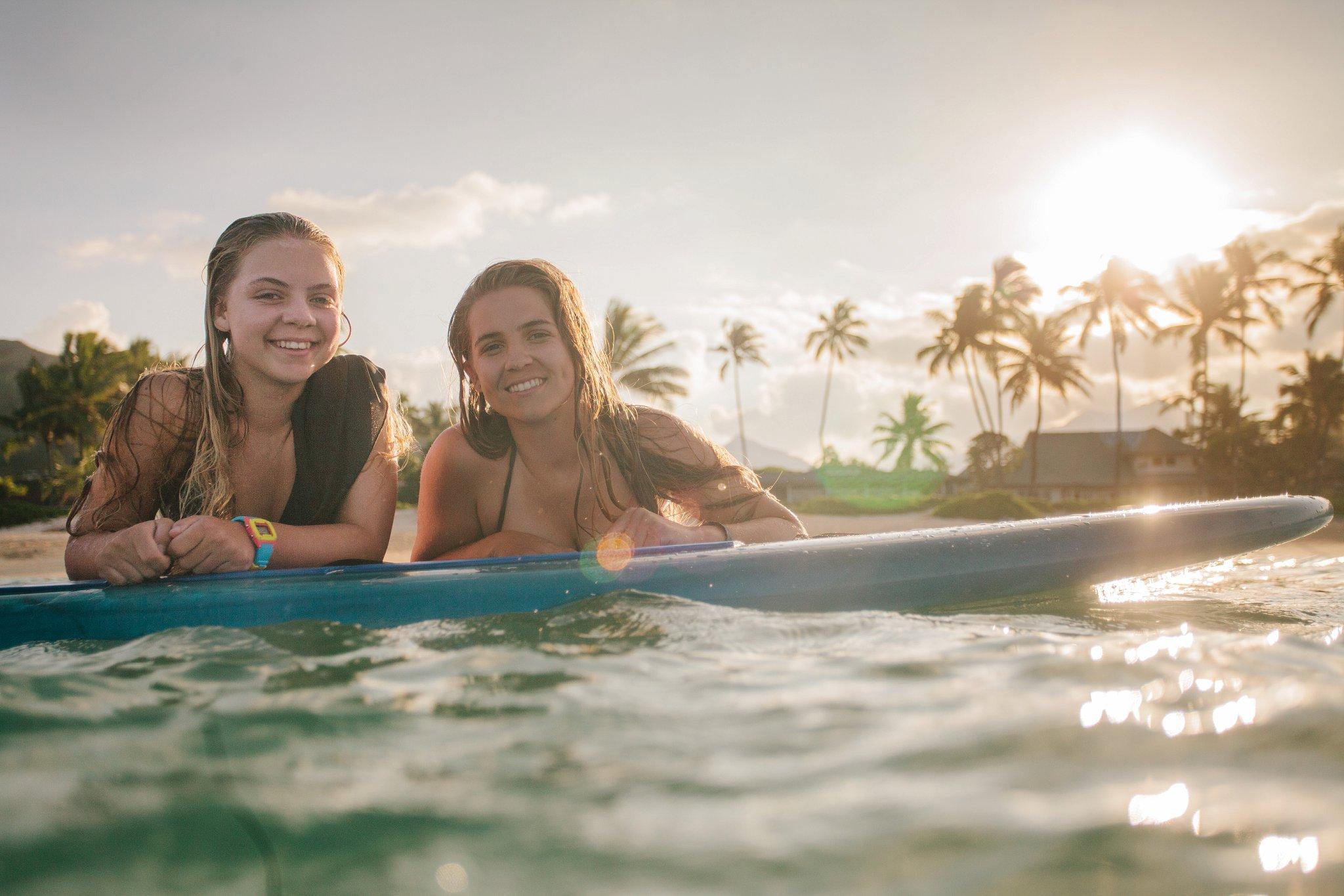 Arizona destination senior portraits in Hawaii