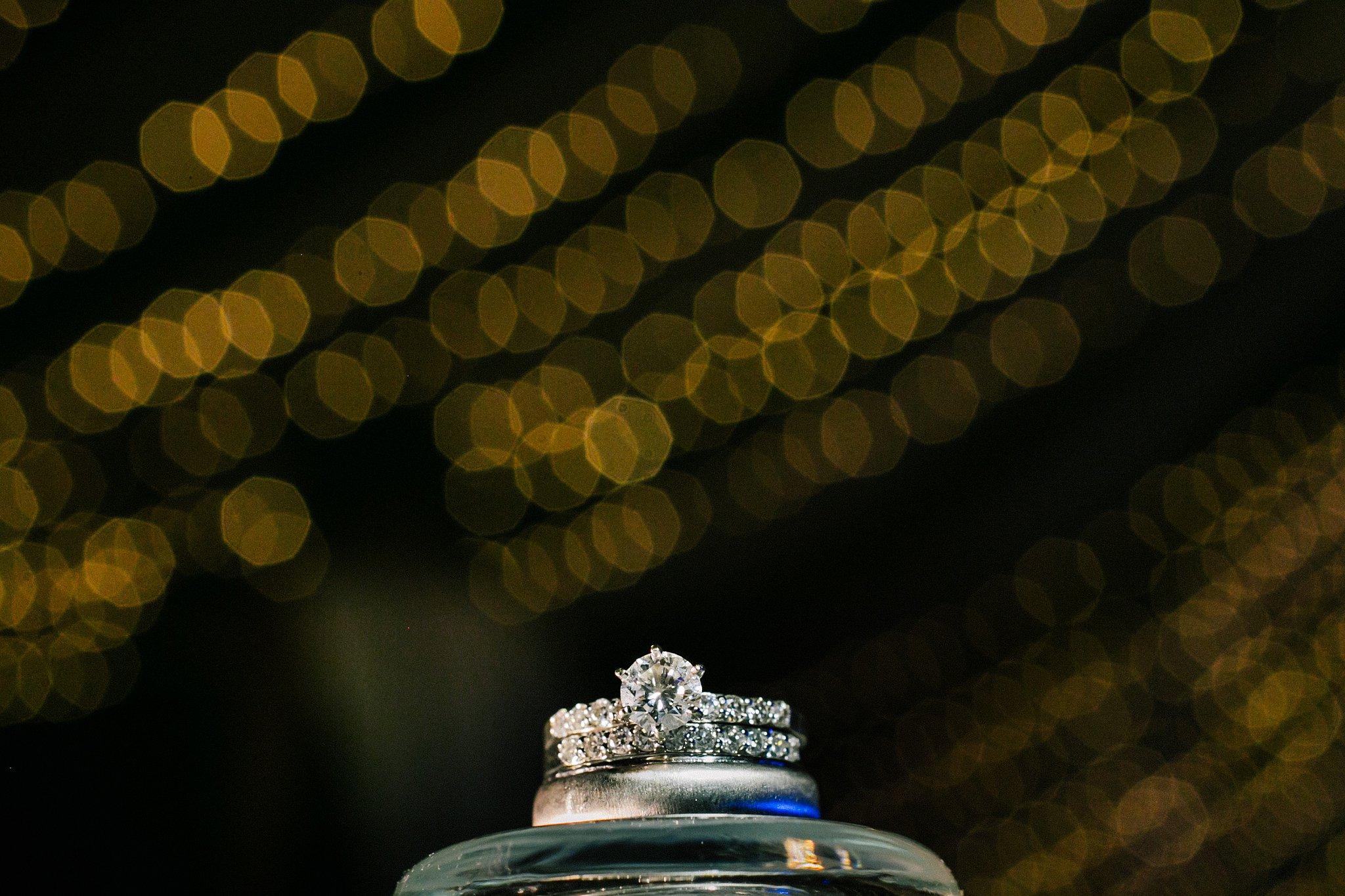 Rivercenter wedding reception wedding rings