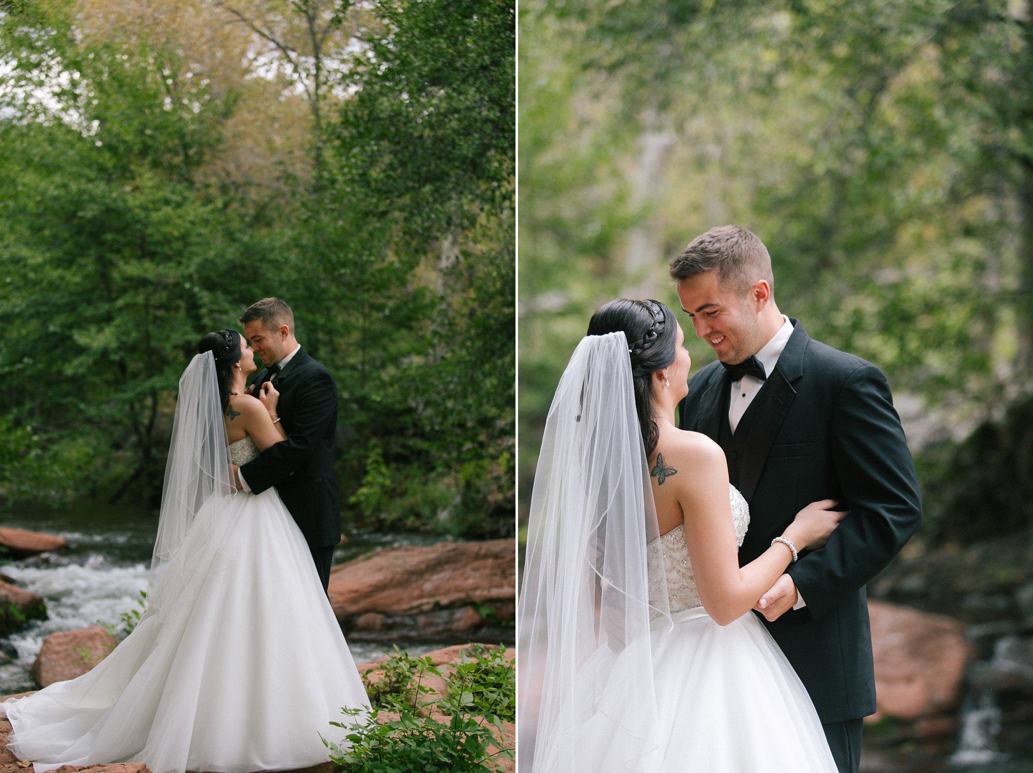 Sedona wedding photographer L'Auberge wedding