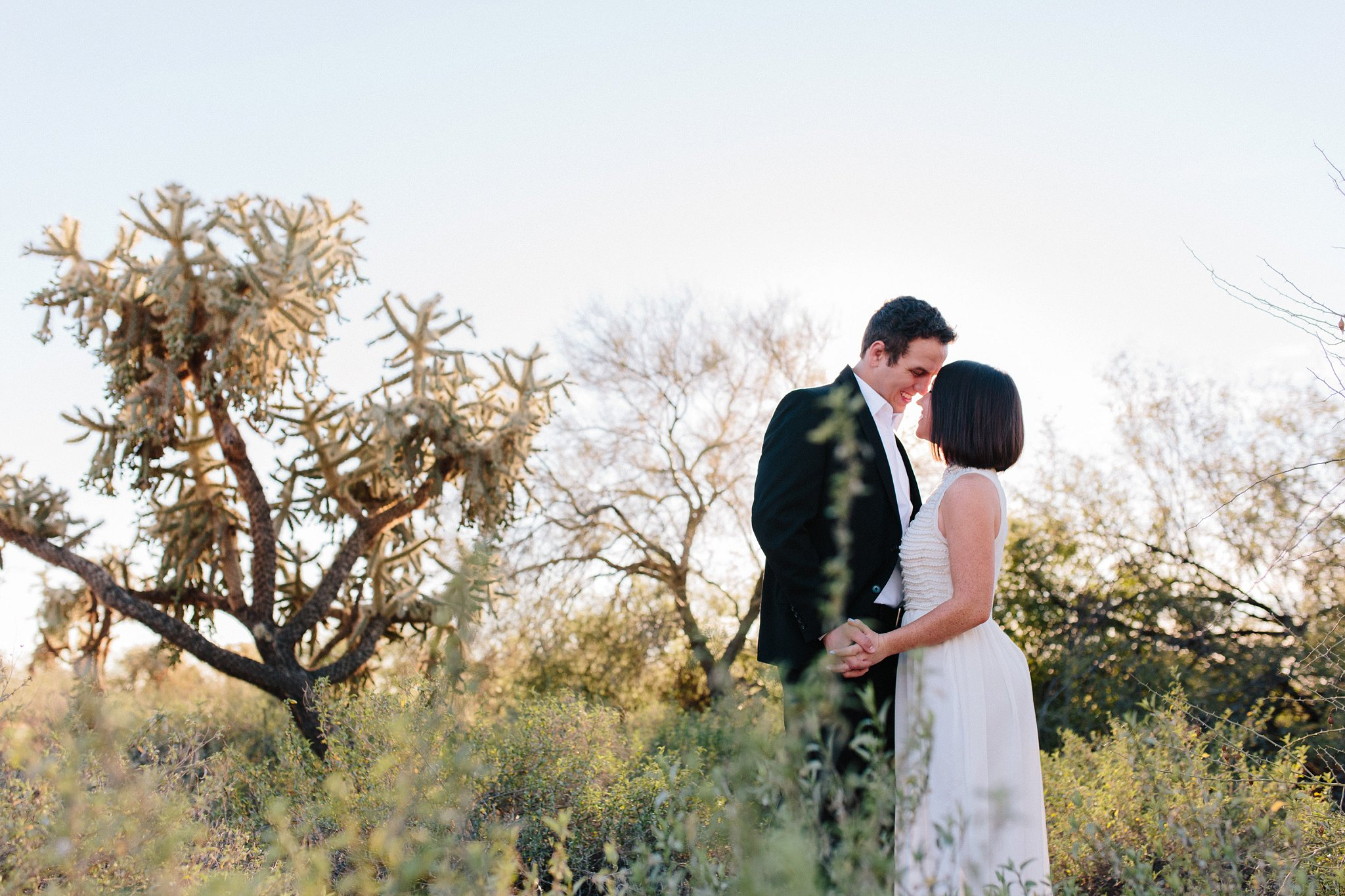 eloping in the desert in Arizona