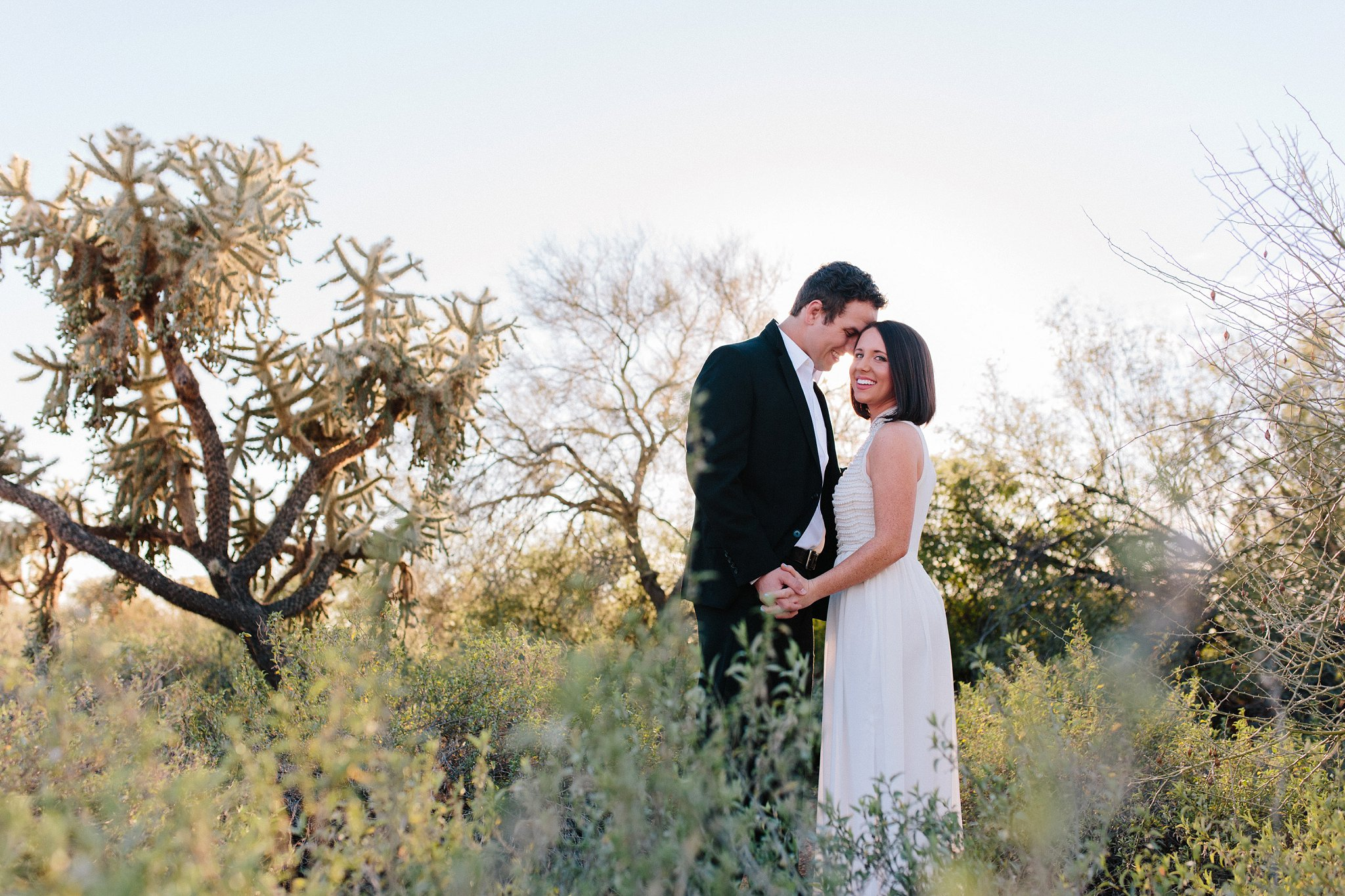 natural desert elopement photographer