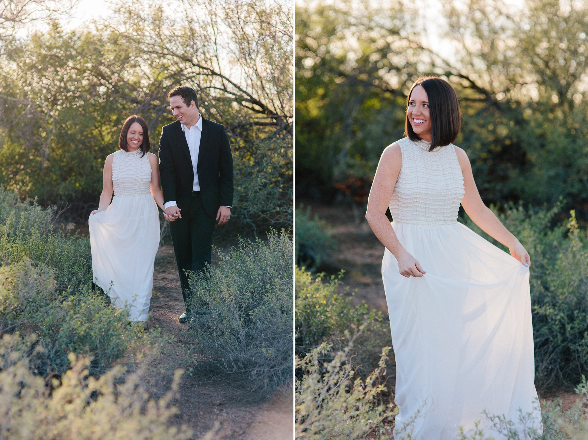 desert nature elopement in Arizona