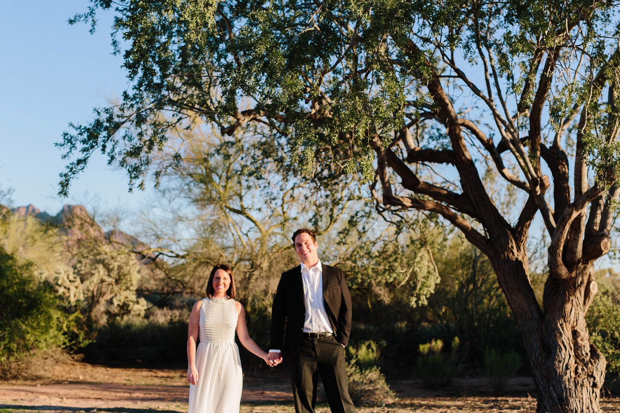 Arizona desert elopement photography