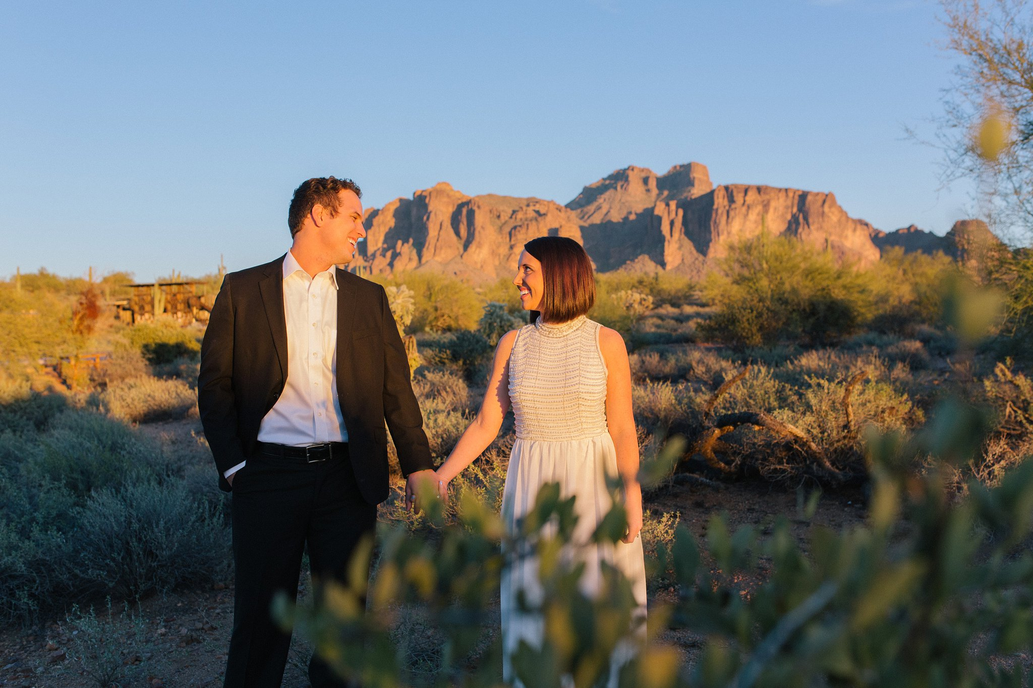 Mesa Superstition Mountains elopement photographer