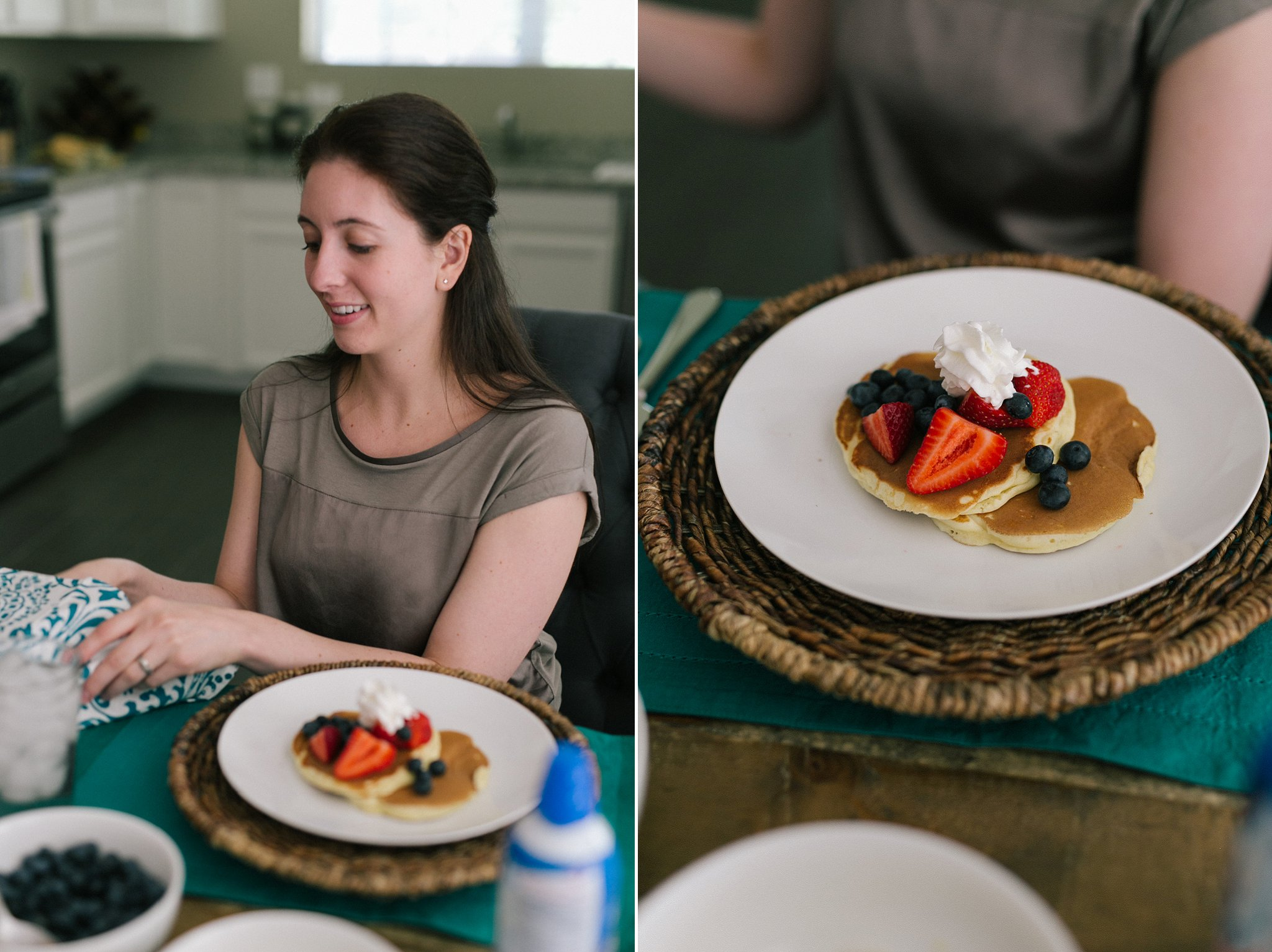 engagement session at home making breakfast Phoenix documentary lifestyle photographer