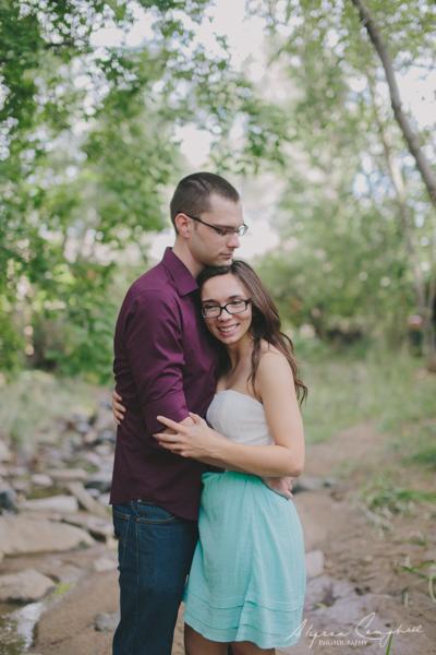couple in Prescott creek