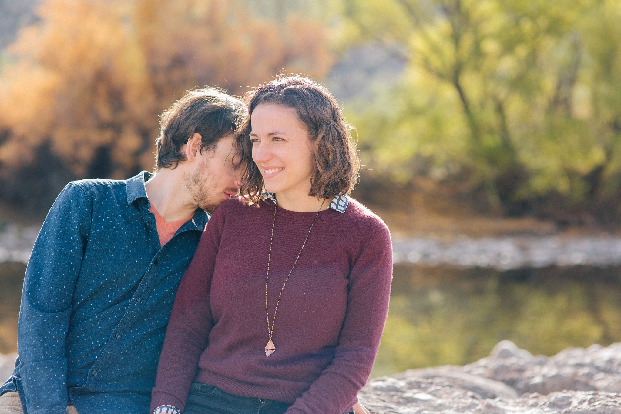 natural genuine emotional engagement session in Arizona