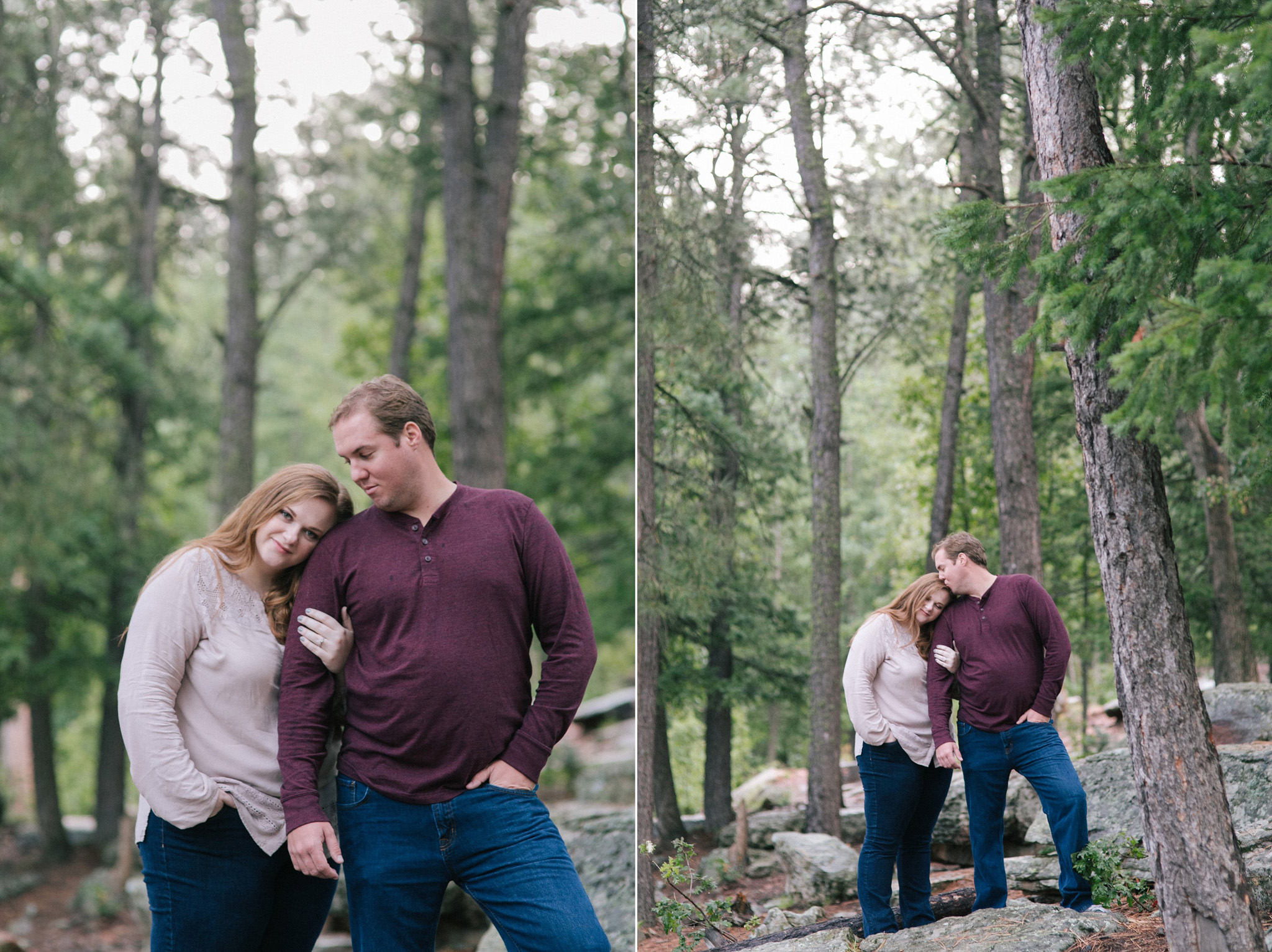 mogollon rim northern arizona forest engagement session
