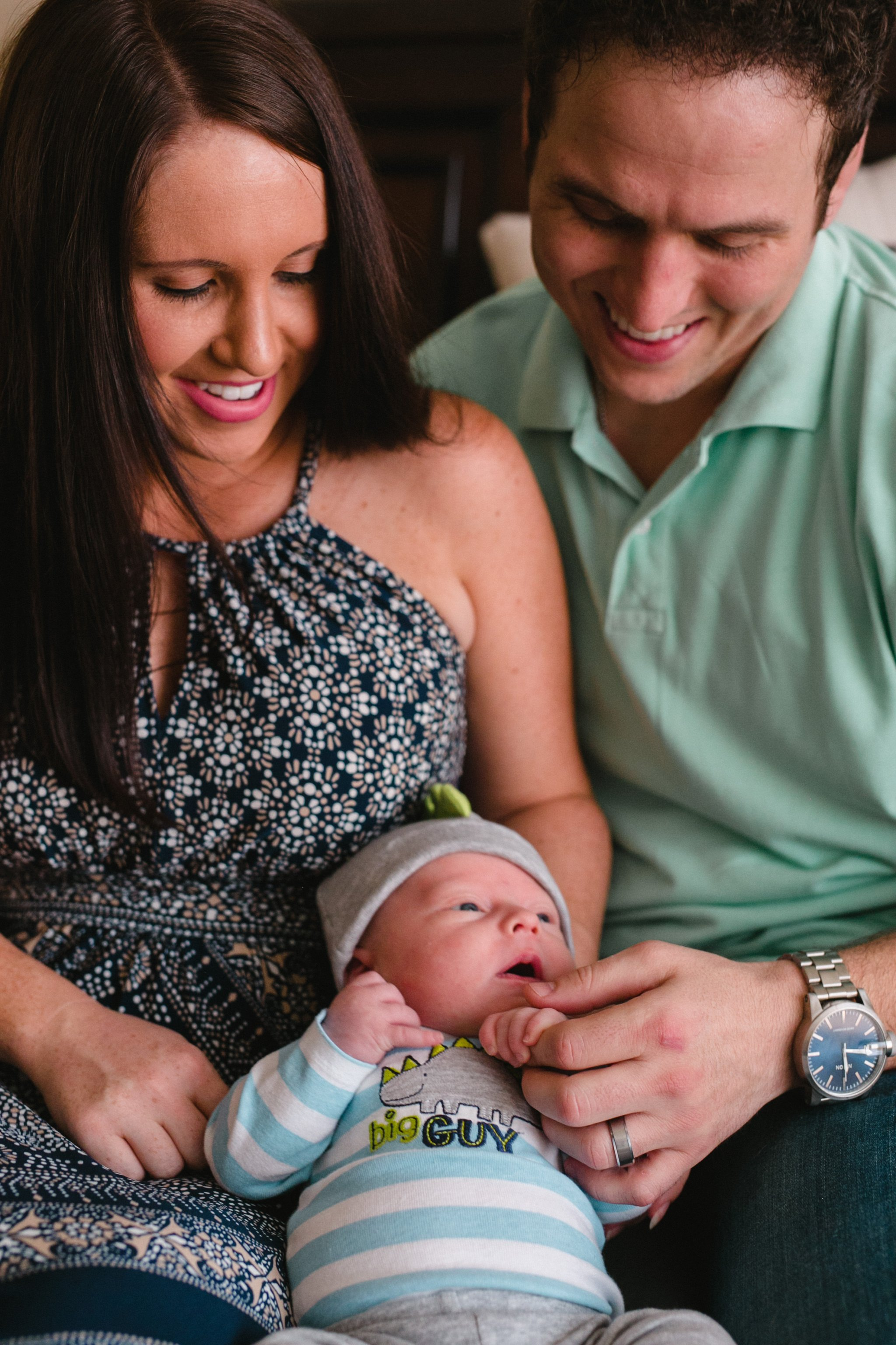 Chandler lifestyle newborn baby photos