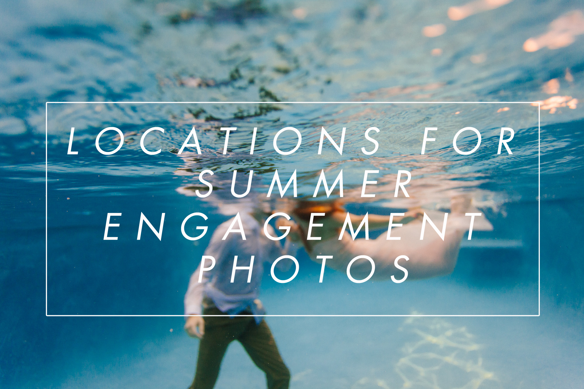 where to shoot engagement photos in Arizona in summer