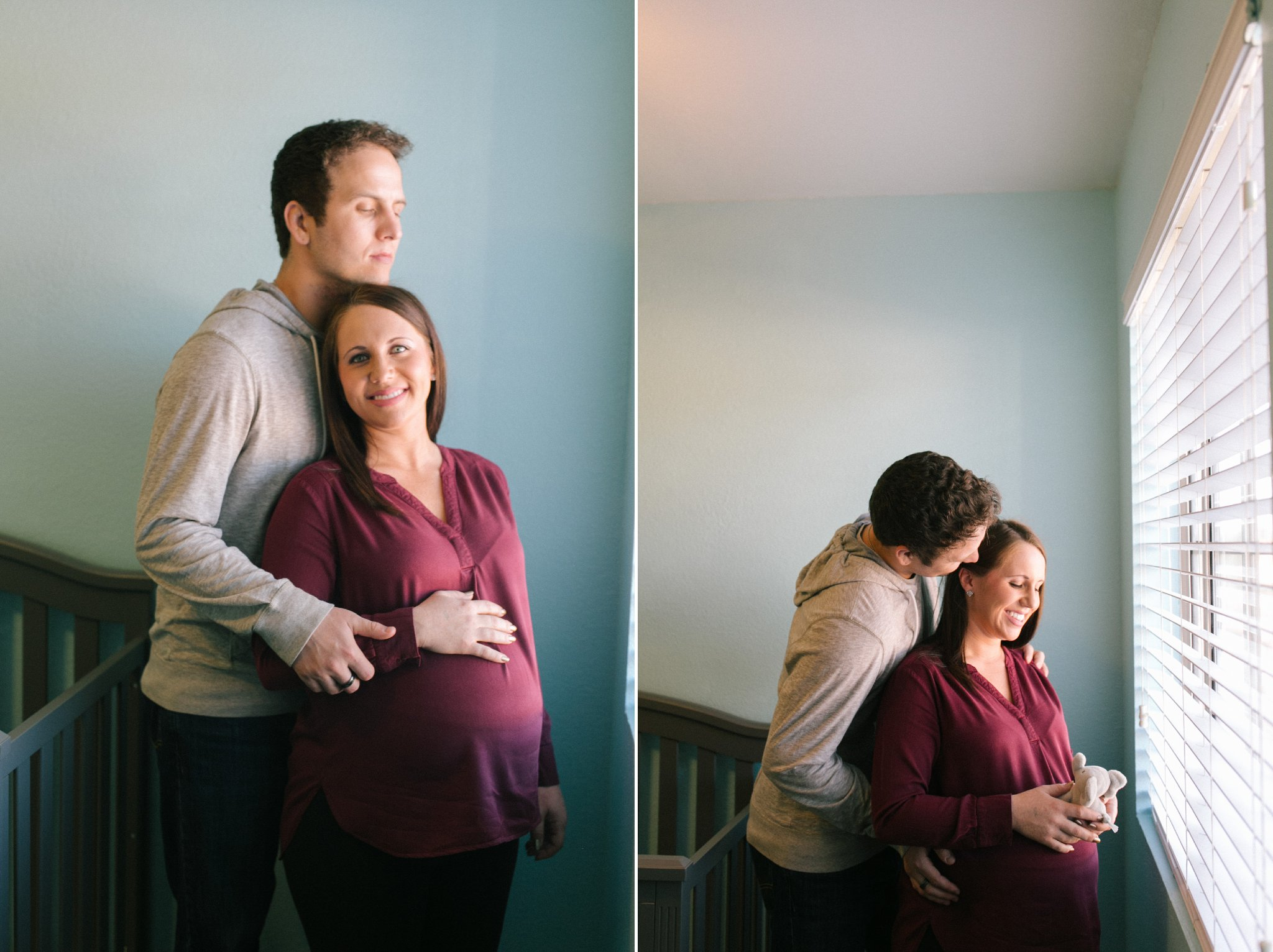 Chandler AZ in home maternity session