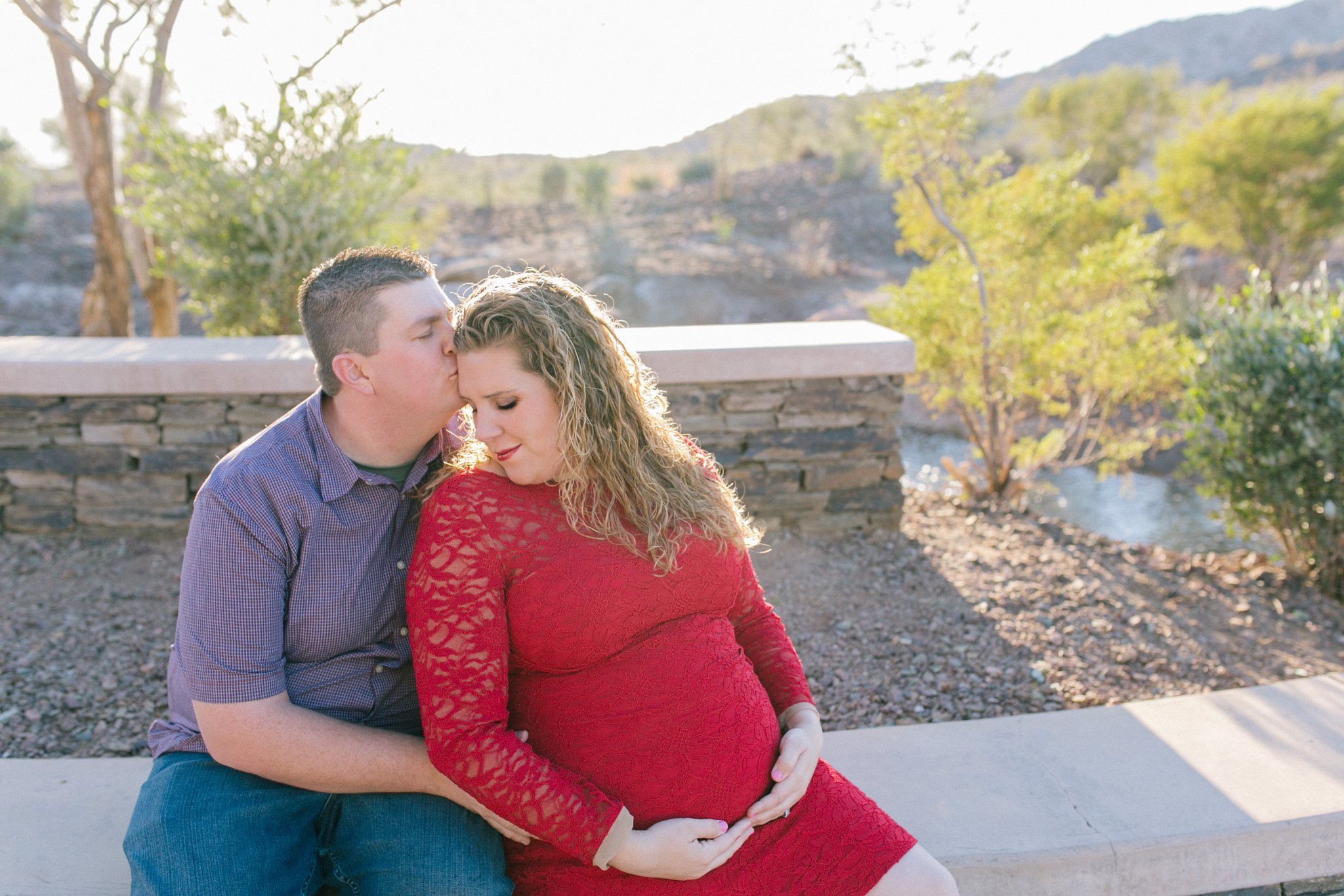 Goodyear Estrella Mountain maternity photo session