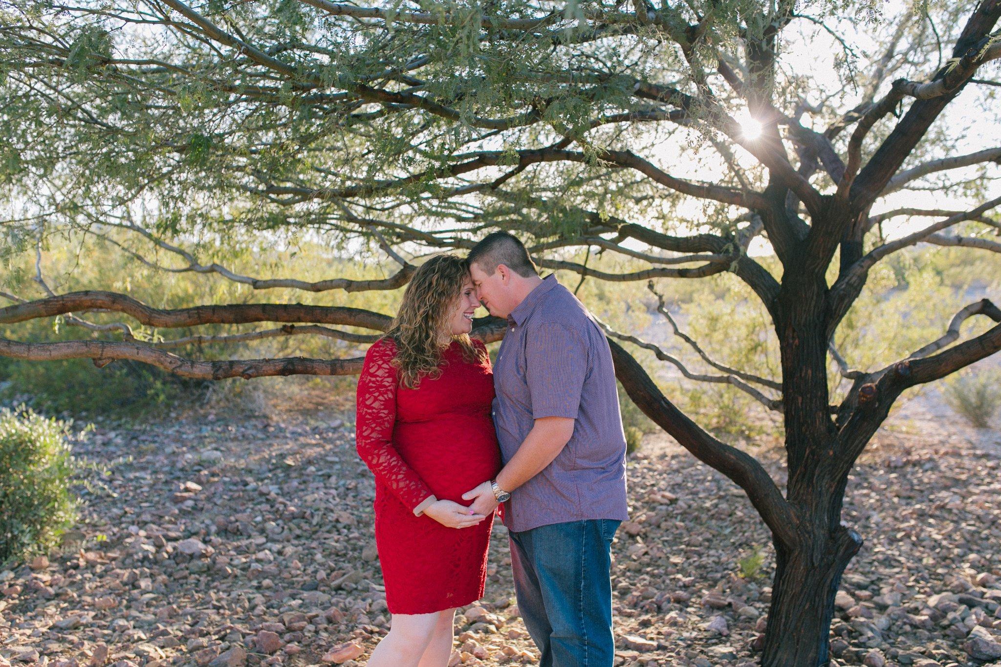 desert maternity session Phoenix