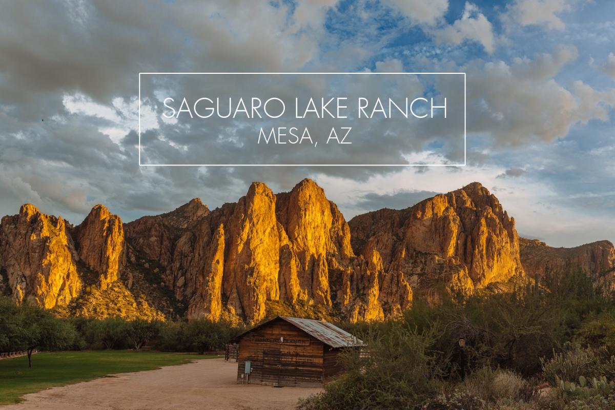 Saguaro Lake Ranch Mesa Az Natural Desert Southwest Wedding Venue